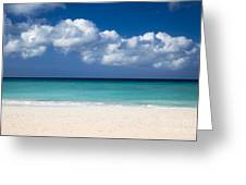 Aruba Beach Greeting Card
