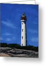 Aruba Light House Greeting Card