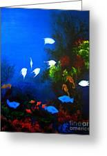 Aruba Reef Greeting Card
