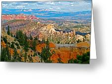 As Far As The Eye Can See From Farview Point In Bryce Canyon-utah   Greeting Card