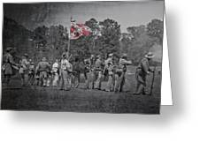 As The Flag Waves Greeting Card