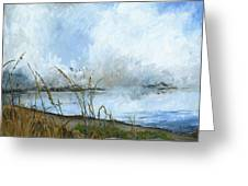 As The Mist Rises Greeting Card