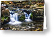 As The Water Flows  Greeting Card