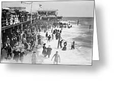 Asbury Park - New Jersey - 1908 Greeting Card