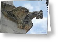 Ascension Gargoyle Greeting Card