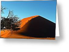 Ascent Of Dune 45 Greeting Card by Liudmila Di