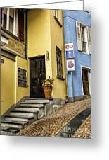 Ascona Alley Greeting Card