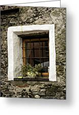 Ascona Window Greeting Card