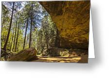 Ash Cave Greeting Card