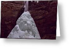 Ash Cave In Hocking Hills Greeting Card by Dan Sproul