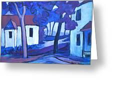 Ashcroft Manor Buildings Greeting Card