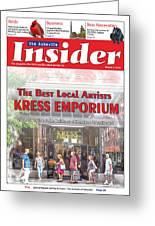 Asheville Insider Magazine Greeting Card