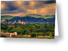 Asheville North Carolina Greeting Card