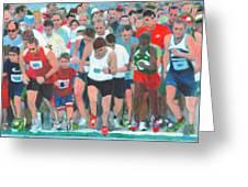 Ashland Half Marathon Greeting Card