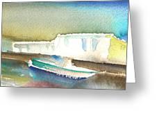 Ashore In Lanzarote Greeting Card