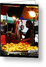 Asian Pears - Chinatown New York  Greeting Card