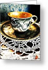 Asian Teaware Greeting Card