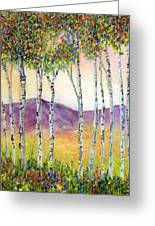 Aspen Impressions Greeting Card