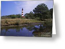 Assateague Lighthouse - Fm000081 Greeting Card