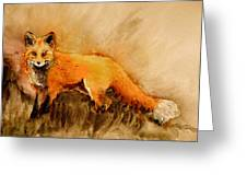 Assessing The Situation Antiqued Greeting Card