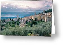 Assisi  Greeting Card