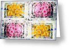 Aster Mix 01 Greeting Card