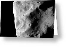 Asteroid, 21 Lutetia Greeting Card