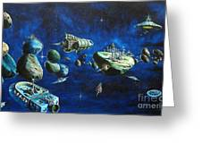 Asteroid City Greeting Card