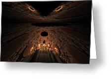 Asteroid Rendezvous  Greeting Card