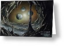 Asteroid's Eye Greeting Card