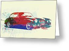Aston Martin Db2 Greeting Card by Naxart Studio