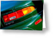 Aston Martin Db7 Taillight Greeting Card