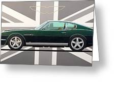 Aston Martin V8 Vantage Greeting Card