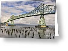 Astoria Bridge Greeting Card