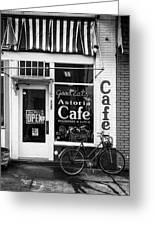 Astoria Cafe Greeting Card