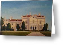 Astors Beechwood Mansion Greeting Card