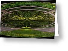 Astral Garden Entrance Greeting Card