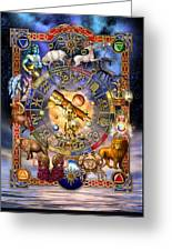 Astrology Greeting Card by Ciro Marchetti