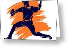 Astros Shadow Player2 Greeting Card