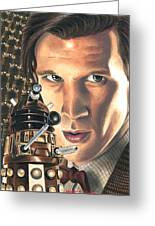 Doctor Who - Asylum Of The Daleks Greeting Card