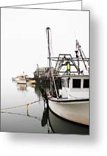 At Dock Greeting Card by Karol Livote