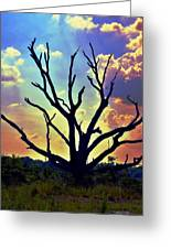 At Life's End There Is Light Greeting Card