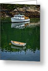 At Rest In The Cove Greeting Card
