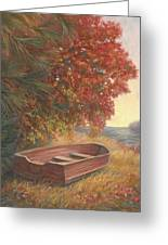 At Rest Greeting Card by Lucie Bilodeau