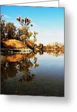 At Rivers Bend Greeting Card