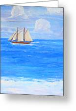 At Sea Greeting Card