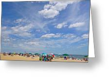 At The Beach 3 Greeting Card