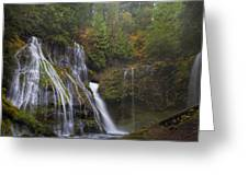 At The Bottom Of Panther Creek Falls Greeting Card
