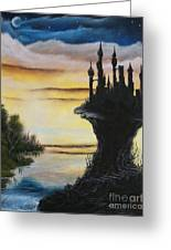 At The Edge Of Eternity Greeting Card