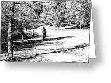 At The Lake-42 Greeting Card